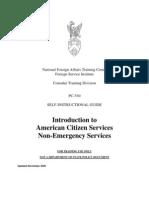 ACS - Non-Emergency, Nov 06