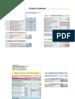 Project Evaluation (Using CDA FAR Rule) - Saad