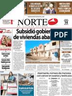 Periodico Norte de Ciudad Juárez 14 de Febrero de 2013