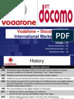 International Marketing vodofone docomo