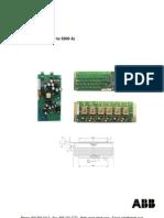 ABB DCS800 Service Manual