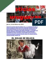 Noticias Uruguayas Jueves 14 de Febrero Del 2013