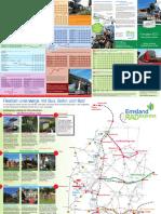 Emsland RADexpress Faltplan 2013