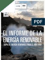 Informe de La Energia Renovable Br