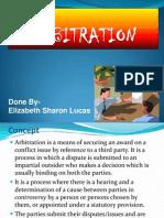 Sharon Arbitration