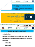 Session 1- Micro Hydro Implementation Model in Nepal - MA and JK