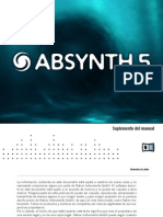 Absynth 5 Manual Addendum Spanish