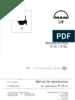 Manual Motores MAN D02 - D08