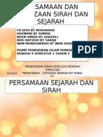 Persaman Dan Perbezaan Sirah Dan Sejarah (Edited)