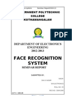 Face Recognition Nadirsha Report