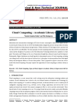 Cloud Computing Academic Library in Orissa