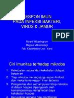 Respon Imun Pada Infeksi Bakteri-Virus-jamur