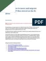 Outlook Pst File Migration Guide v9