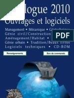Catalogue Presses Des Ponts 2010
