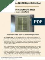 Gene Scott University Bible Collection