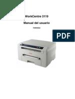 Manual Usuario Xerox Work Centre 3119
