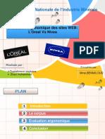 Evaluation Ergonimique Des Sites de l'Oreal Et Nivea