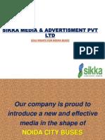 Bus Branding In Noida / Greater Noida / uttar pradesh