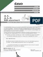 Vespino Al-Alx-xe-1990 Manual de Usuario