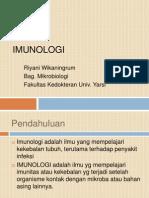 Imunologi Dasar - Pendahuluan Rw