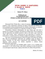 101 PERGUNTAS  SOBRE  O  SANTUÁRIO  E  ELLEN  G