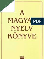 A magyar nyelv könyve
