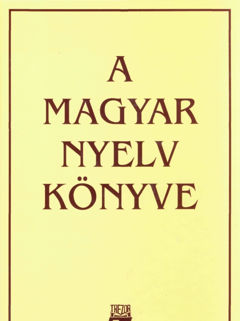 A magyar nyelv könyve fe641eb377