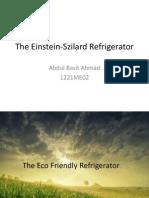 The Einstein-Szilard Refrigerator