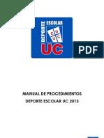 Manual Procedimientos 2013 UC