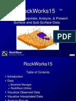 Rockworks15 PDF