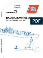 Uscg - Navigation Rules International-Inland - 1999