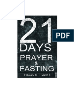 21 Day Daniel Fast Guidelines