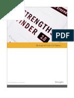 Strength Finder Report