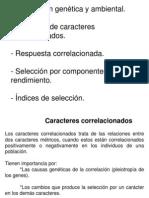 Correlación Genética y ambiental-Selección de caracteres correlacionados-INDICES-ok-ok