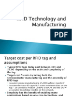 RFID Technology and Manufacturing