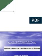 1.1 Formulación de Proyectos