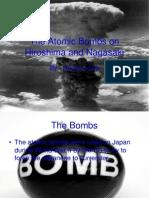 The Atomic Bombs on Hiroshima and Nagasaki