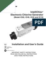 Pentair IntelliChlor User Guide