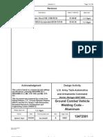 TACOM Weld Code - Alumn (12472301A)