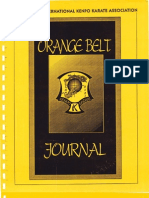 American Kenpo Orange Belt Journal