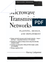 BOOK Microwave Transmission Networks Planning Design and Deployment