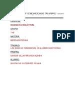 Nuevas Tendencias de La Mercadot.