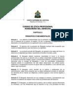 Codigo de Etica Del Profesional Del Derecho