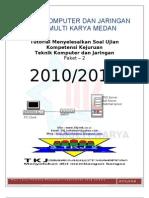 Pembahasan Soal Ukk Tkj Paket2 2010-2011 By3tkj2mk