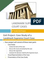 Landmark Supreme Court Cases.pptx