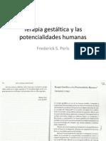 95318811 Terapia Gestaltica y Las Potencialidades Humanas