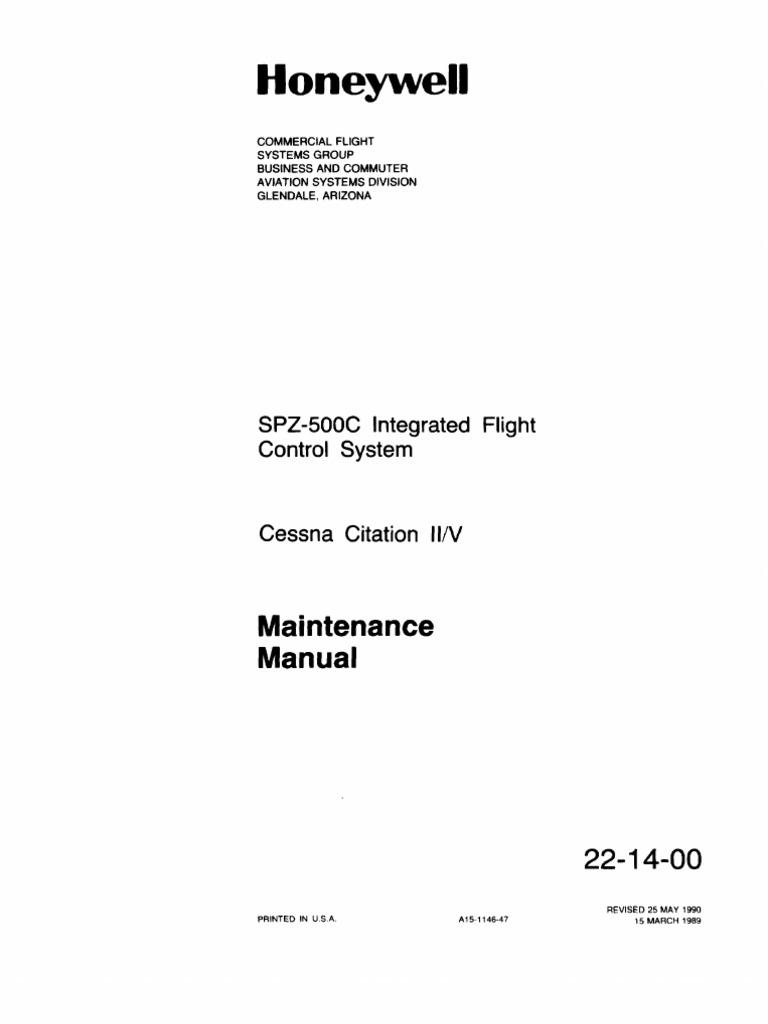 Cessna Citation II y V | Avionics | Aircraft on