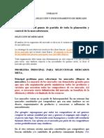 Mercadotecnia 1 -Segmentacion y Posicionamiento