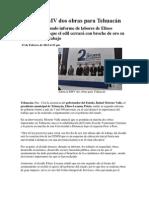 13-02-2013 Puebla noticias - Anuncia RMV dos obras para Tehuacán.pdf