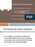 Canal Endemico y Cercos
